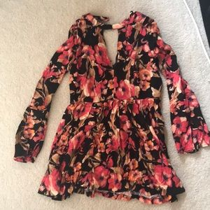 NWT Free people flowered dress